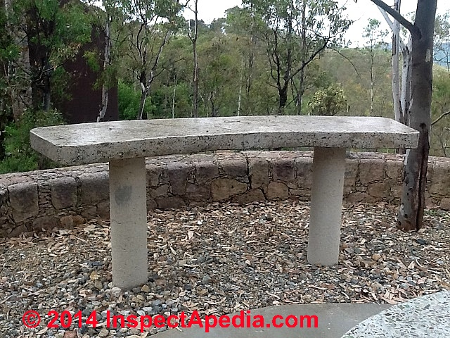 ... Concrete Table With Bottle Glass Inclusions, High Gloss Polish (C)  Daniel Friedman Perason