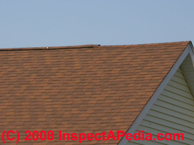 Roof Vents How To Inspect Ridge Vents From The Attic Detect Inadequate Ridge Venting