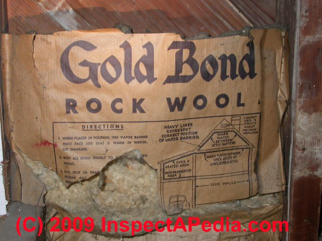 Rock Wool Mineral Wool Amp Slag Wool Building Insulation