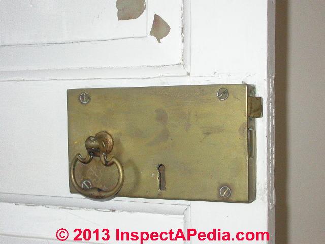 Antique Door Hardware, Suffolk Resolves House 1774 Latch © Daniel Friedman