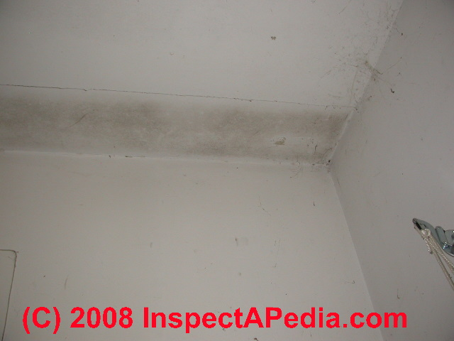 Dark Ceiling Stains How To Recognize Amp Diagnose Thermal Tracking Ghosting Thermal Bridging