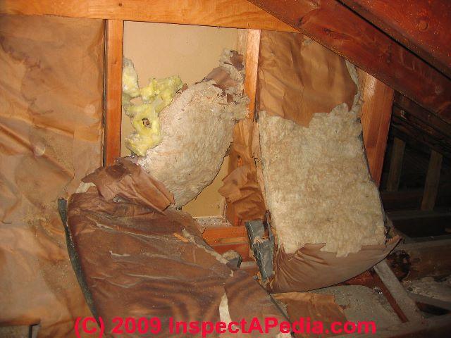 Fiberglass Insulation Air Leaks Amp Heat Loss Analysis For