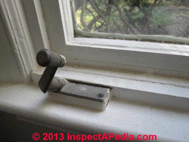 Window Amp Window Hardware Age Window Construction Details