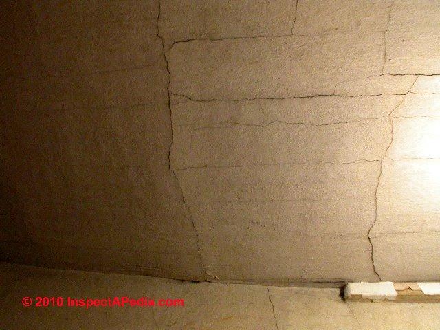 Plaster Cracks In Ceiling : CEILINGS