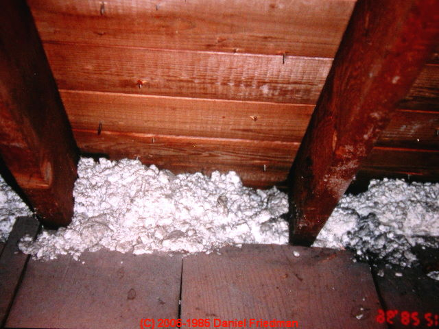 Blocked soffit intake venting as a factor in attic for Mineral wool wall insulation