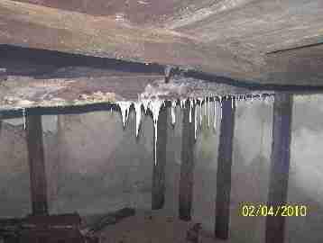 Moldy Sub Basement, Rot, Flooding (C) David Gruzinski Daniel Friedman