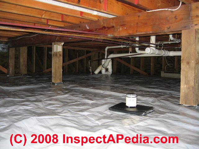 The significance treatment of mold on dirt in crawl spaces sealed crawl space after a mold cleanup job c daniel friedman tyukafo