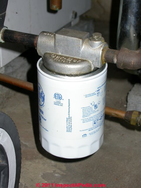 How To Change The Oil Filter Cartridge For Oil Fired