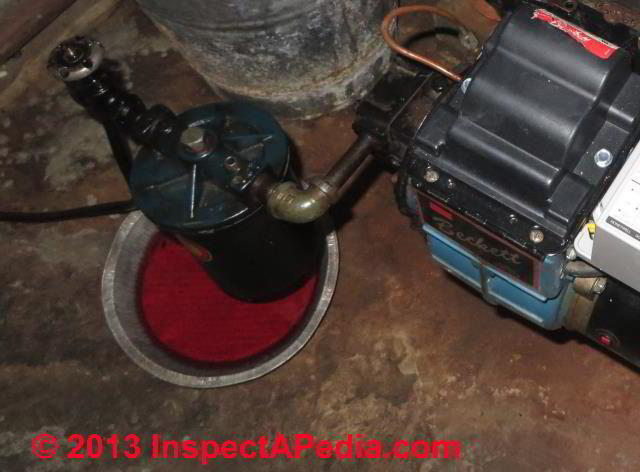 Oil Filter Leak Points On Oil Fired Heating Equipment