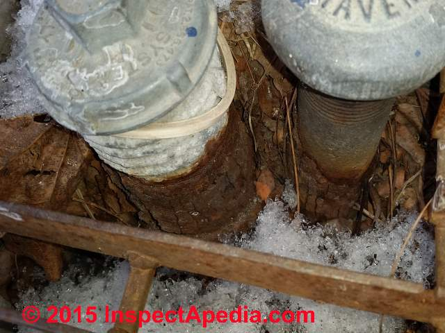how to detect leak on unfergroung copper pipe