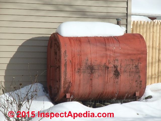 Using Heat Tapes On Oil Tank Fuel Lines To Prevent Waxing