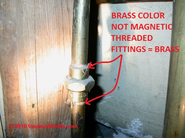 Brass Water Supply Piping Inspection, Diagnosis, Repair, Replacement ...