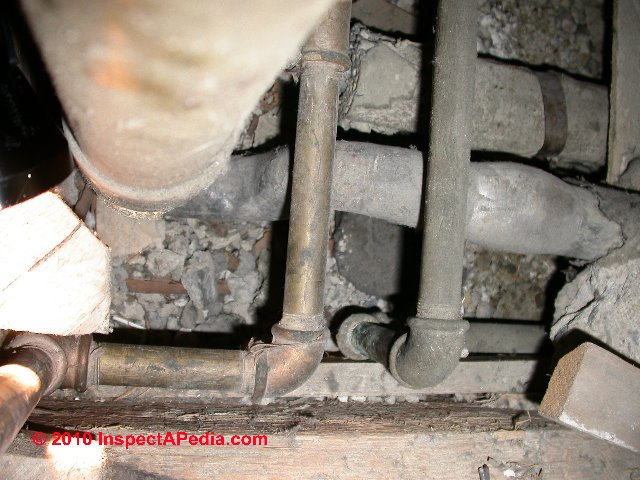Lead Plumbing Pipes How To Identify Lead Water Supply