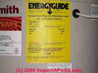Water Heater Efficiency Ratings Measurements Improvements