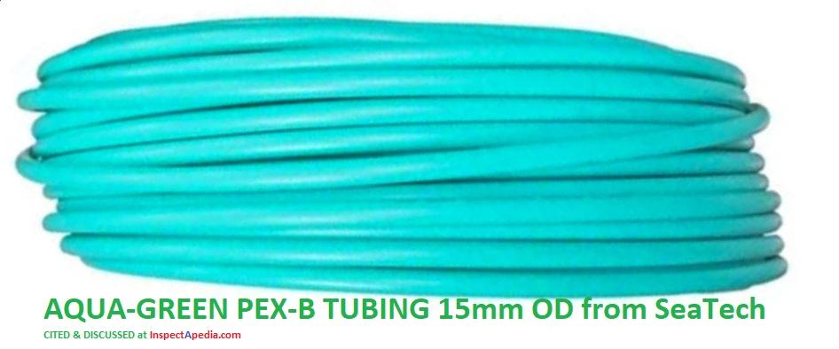 PEX Tubing & Piping, Cross-Linked Polyethylene PEX Piping