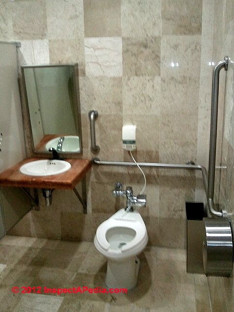 Auto forward to correct web page at for Handicapped accessible bathroom plans