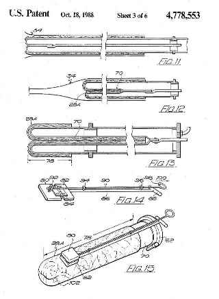 CIPP_Patent_4778553-3_Woods patent on trenchless pipe re lining or repair
