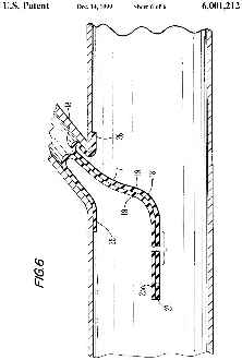 Trenchless pipe relining detail, Polivka patent 1999