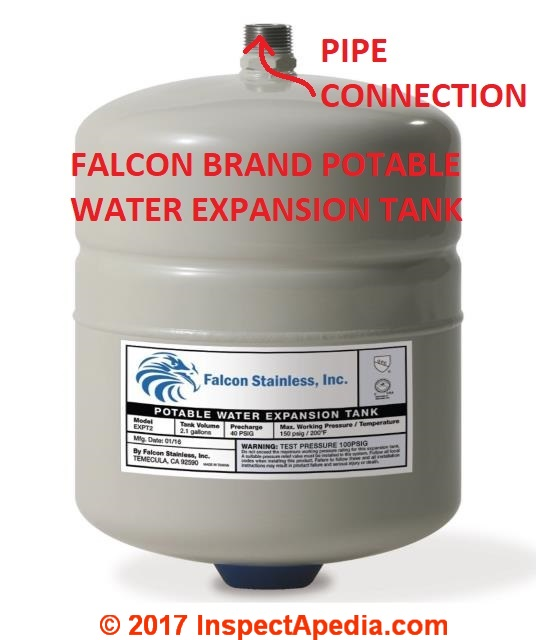 Thermal Expansion Tanks & Thermal Expanson Control Valves for water ...