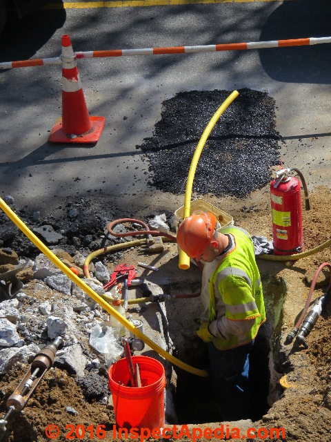 Gas Pipe Leaks How To Identify Amp Correct Lp Gas Or