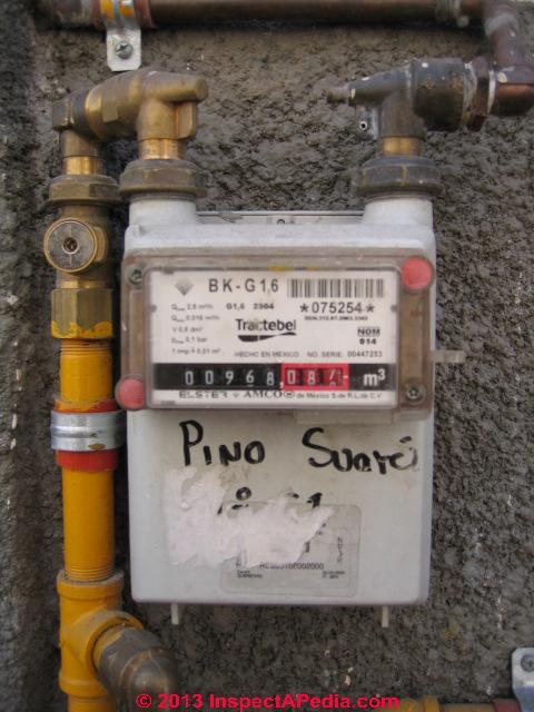 Inside A Gas Meter : Lp gas natural controls tanks regulators piping