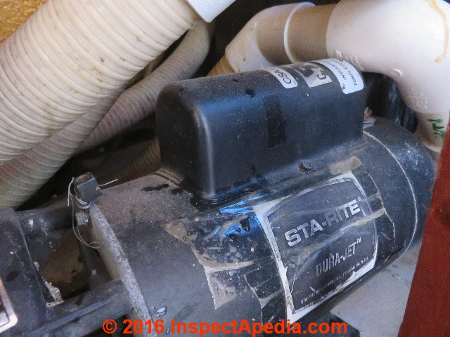 Pump repair hot tub spa whirlpool pumps for Jacuzzi tub pump motor