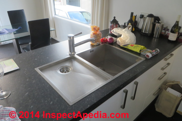 Kitchen island types - Island Sink Drain Piping Amp Venting