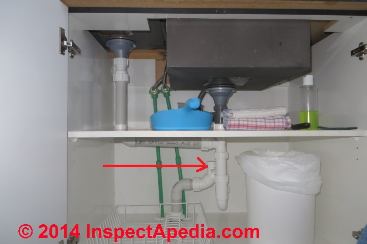 ... properly vent the plumbing drain of an island sink or peninsula sink