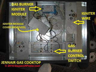 Gas range ignition trouble (C) Daniel Friedman