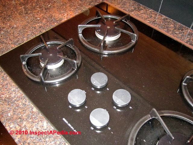 Gas Range Top (C) Daniel Friedman Gas Cooktop Igniter Repair