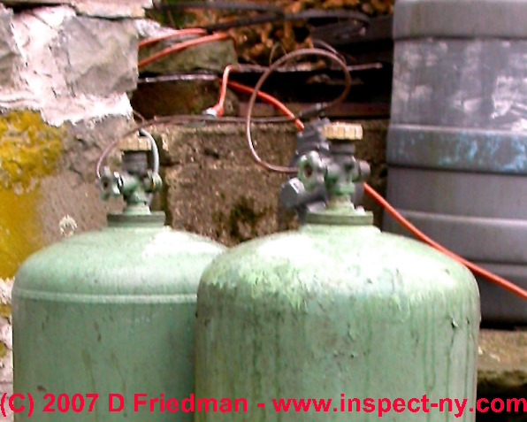 Propane LP Gas Tank Install, Fill, & Safety Observations