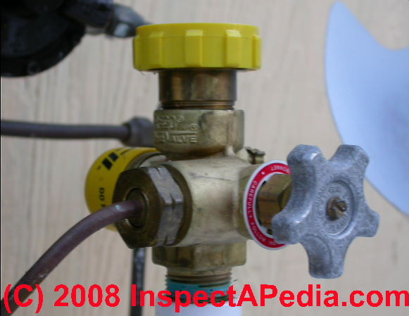 Natural Gas Safety Relief Valve