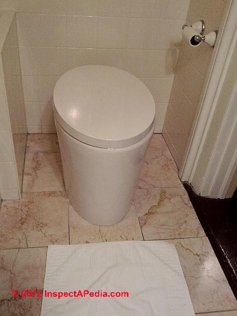 Hat Box Toilet
