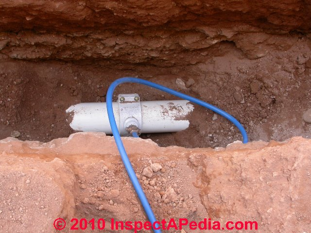 Installation specifications inspection testing plastic for Pb water pipe