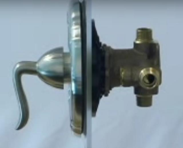 price pfister tub or shower valve with anti scald temperature control http