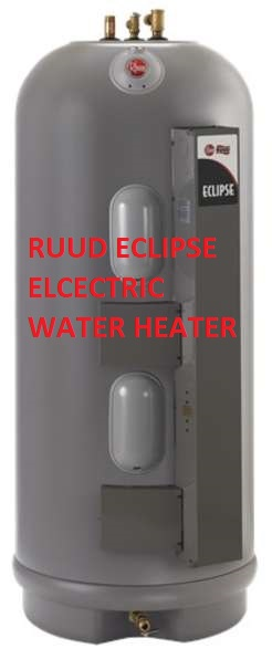 Ruud water heater age manuals company contact information ruud eclipse commercial grade electric water heater at inspectapedia ccuart Image collections