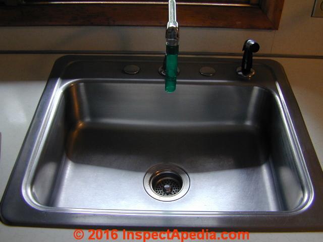 Enameled Steel Kitchen Sink