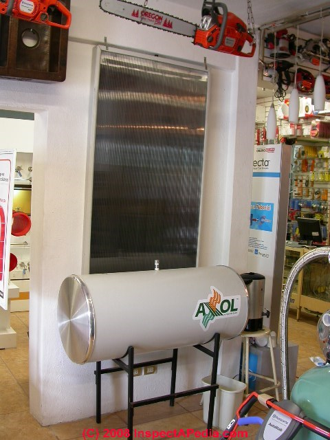 Solar hot water heating system parts & design basics - guide to ...