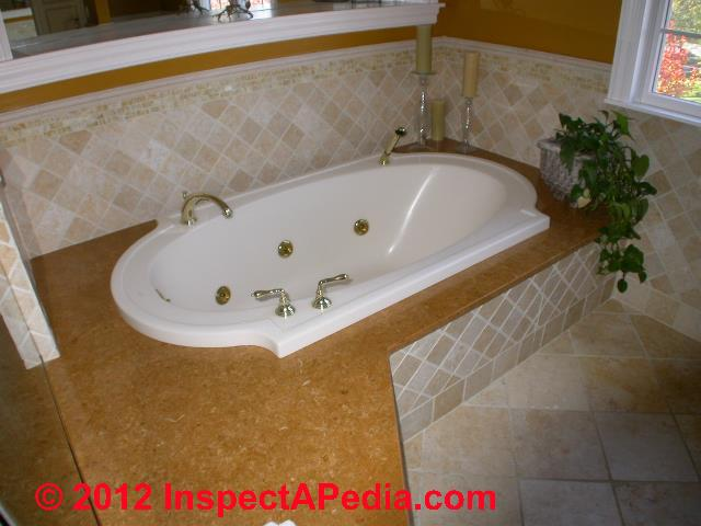 Jetted tubs soaking tubs spas whirlpool baths for Different types of tubs