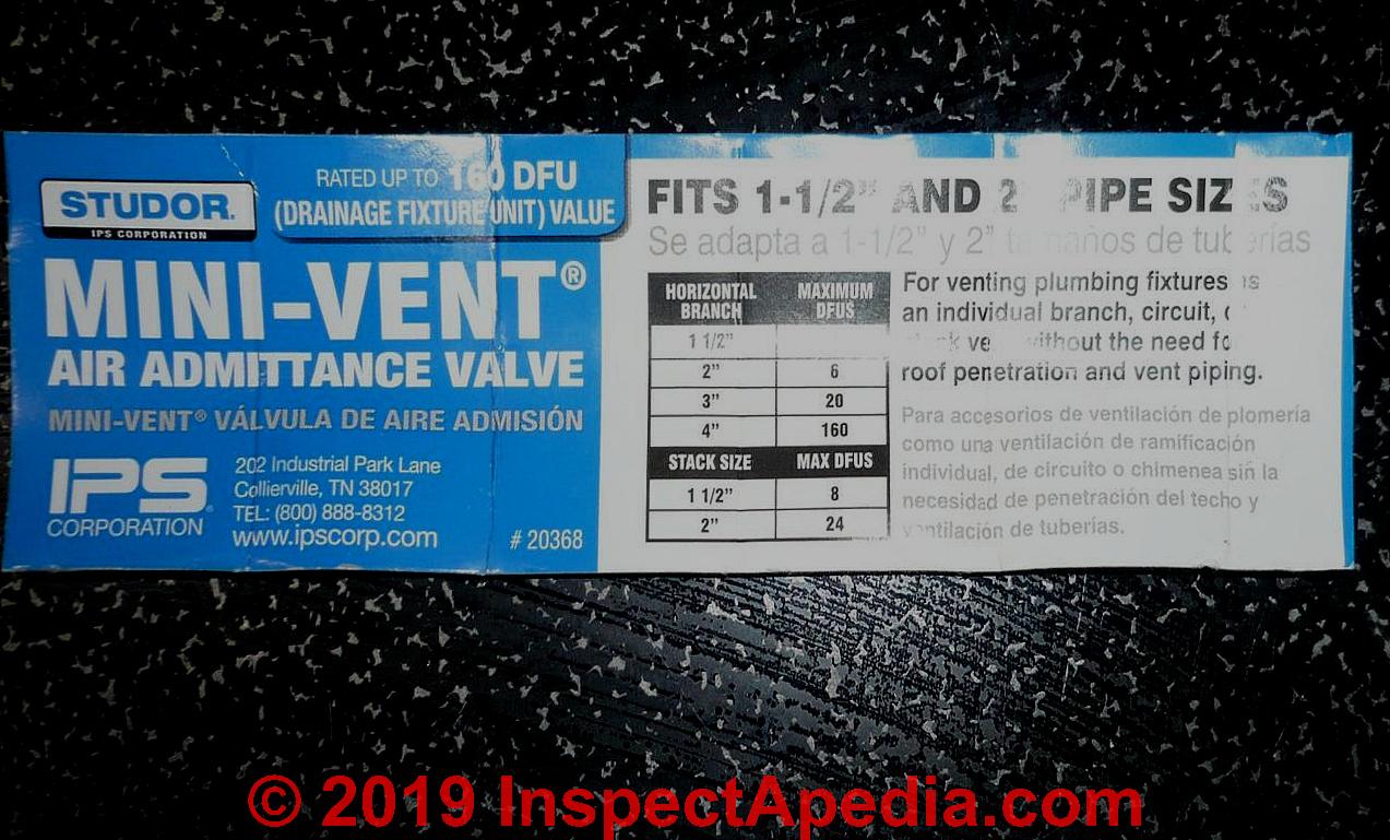 Air Admittance Valve / Studor Vent® Definition, Installation