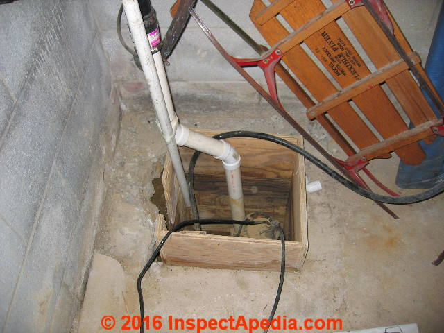Sump Pump Inspection Amp Repair Guide