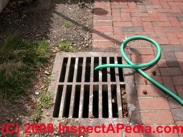 Sump To A Storm Drain