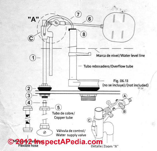 Crane Toilet Parts Flapper
