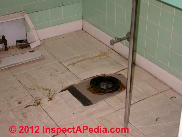 how to fix a toilet floor flange