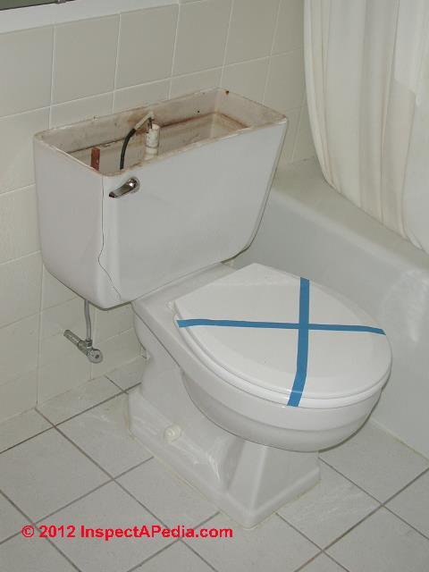 Toilet Leaks Floods Cracks Explosions Injuries