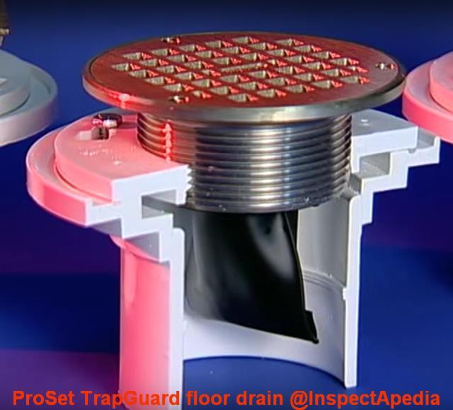 Backup valve floor drain carpet vidalondon for Sewer backup smell in house