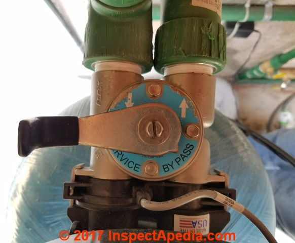 Water Softener Bypass Valve Operation & Repair Guide