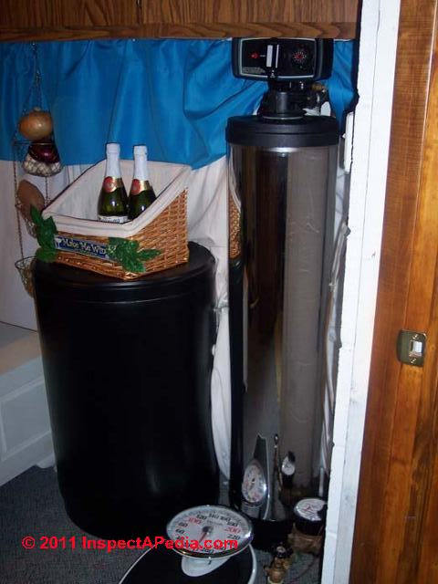 Water Softeners Operation Maintenance Adjustment And