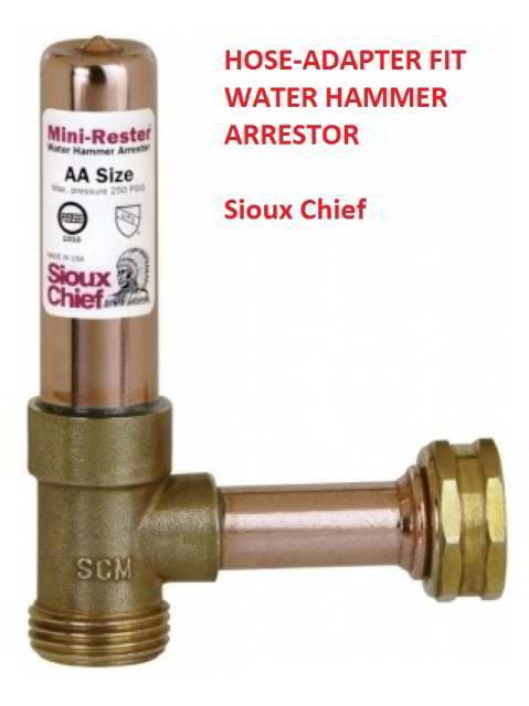 water hammer arrester washing machine