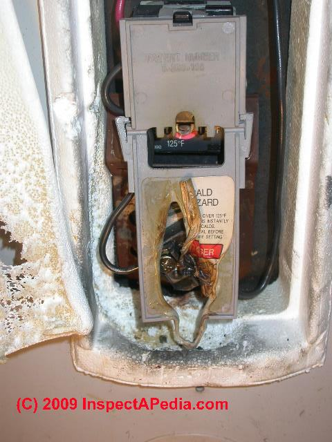Electric Hot Water Heater Thermostat